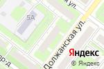 Схема проезда до компании На Должанской в Нижнем Новгороде
