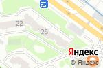 Схема проезда до компании Бетанкур в Нижнем Новгороде