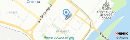Магазин путешествий на карте Нижнего Новгорода