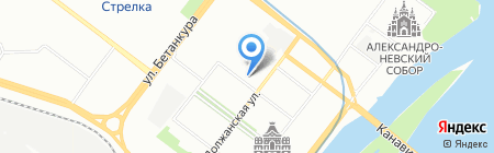 Центр сетевых решений на карте Нижнего Новгорода