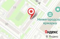 Схема проезда до компании Нижлифтремонт в Нижнем Новгороде