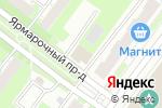 Схема проезда до компании Правозащита в Нижнем Новгороде