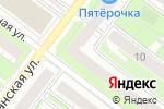 Схема проезда до компании ABC Hotel в Нижнем Новгороде
