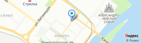 Ирина на карте Нижнего Новгорода