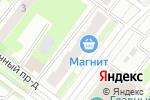 Схема проезда до компании Магнит-Косметик в Нижнем Новгороде
