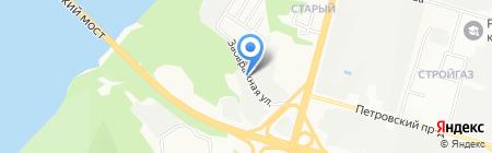Стройспецтехникс-НН на карте Нижнего Новгорода