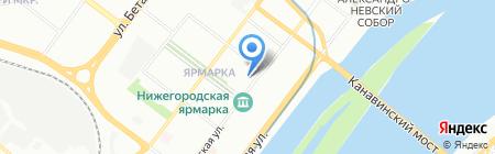 Topsot на карте Нижнего Новгорода