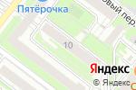 Схема проезда до компании Optomleds в Нижнем Новгороде