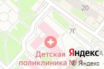 Схема проезда до компании Детская поликлиника №49 в Нижнем Новгороде