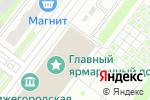 Схема проезда до компании Prime Time в Нижнем Новгороде