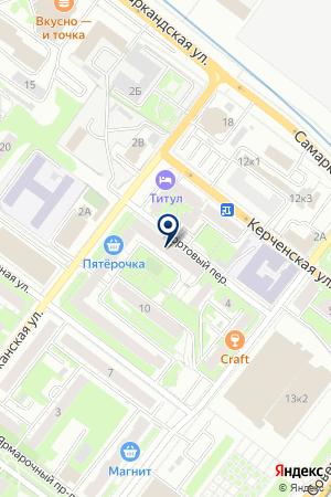 ГОРОДСКАЯ ПОЛИКЛИНИКА №51 на карте Нижнего Новгорода