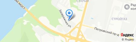 ПромАлюминий на карте Нижнего Новгорода