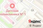 Схема проезда до компании Ростелеком в Нижнем Новгороде