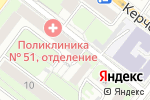 Схема проезда до компании ТОП Репетитор в Нижнем Новгороде