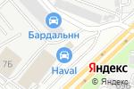 Схема проезда до компании Орион в Нижнем Новгороде