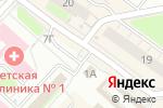 Схема проезда до компании Салон дверей в Нижнем Новгороде