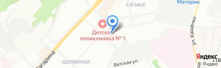 Одевайка на карте Нижнего Новгорода