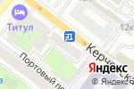 Схема проезда до компании Бар на Керченской в Нижнем Новгороде