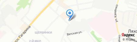 Урожай+ на карте Нижнего Новгорода
