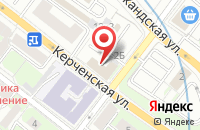 Схема проезда до компании Мебель Гранд в Нижнем Новгороде
