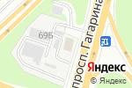 Схема проезда до компании Автопилот в Нижнем Новгороде
