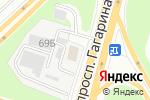 Схема проезда до компании АТЦ Пеликан в Нижнем Новгороде