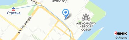 AutoGeometry на карте Нижнего Новгорода