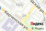 Схема проезда до компании Персона-НН в Нижнем Новгороде