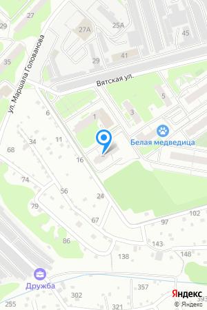 Дом по ул. Вятская, пристрой к дому 2 на Яндекс.Картах