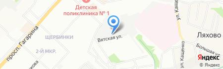 Спорт-Техноплюс на карте Нижнего Новгорода