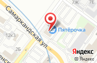 Схема проезда до компании Звук в Нижнем Новгороде