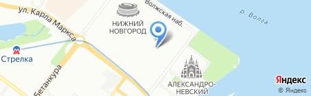 Мир глушителей и тюнинга на карте Нижнего Новгорода