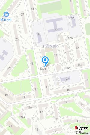 Дом 14 корп.2 в м/р Щербинки-1, ЖК Эдельвейс на Яндекс.Картах