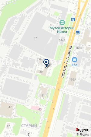 ТОРГОВАЯ ФИРМА ПРЕДСТАВИТЕЛЬСТВО ЧИСТОТЫ на карте Нижнего Новгорода