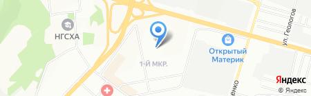 Средняя общеобразовательная школа №174 на карте Нижнего Новгорода
