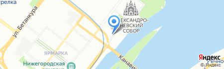 АвтоТрансКомп на карте Нижнего Новгорода