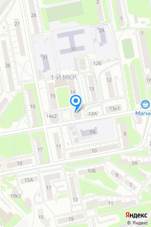 Дом 14 корп.1 в м/р Щербинки-1, ЖК Эдельвейс на Яндекс.Картах
