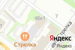 Схема проезда до компании Солнечные окна в Нижнем Новгороде