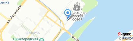 TOUR TALE на карте Нижнего Новгорода