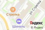 Схема проезда до компании Техас в Нижнем Новгороде