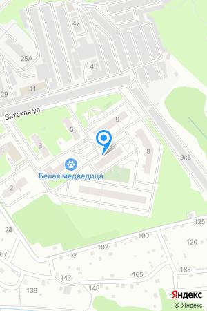 Дом 6 по ул. Вятская на Яндекс.Картах