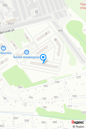 Дом 4 по ул. Вятская на Яндекс.Картах