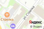 Схема проезда до компании Кристалл в Нижнем Новгороде