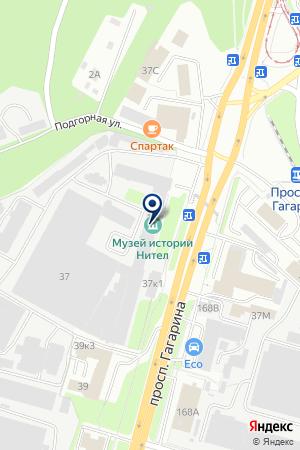 ТОРГОВАЯ ОРГАНИЗАЦИЯ КОМПАНИЯ МАКРОС на карте Нижнего Новгорода