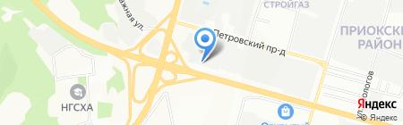 Луидор-Тюнинг Гибка на карте Нижнего Новгорода