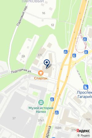 МАГАЗИН ОДЕЖДЫ СПЕЦНАЗ на карте Нижнего Новгорода