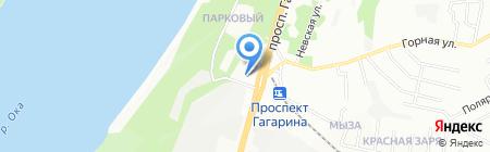 Мастер Плюс на карте Нижнего Новгорода