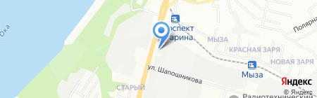 АМЕТЭКС на карте Нижнего Новгорода