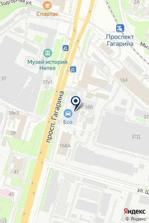 СЕРВИСНЫЙ ЦЕНТР МОЛОДЕЖНЫЙ на карте Нижнего Новгорода