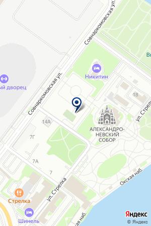 ТРАНСПОРТНАЯ ФИРМА ДАЛЬНОБОЙЩИК на карте Нижнего Новгорода